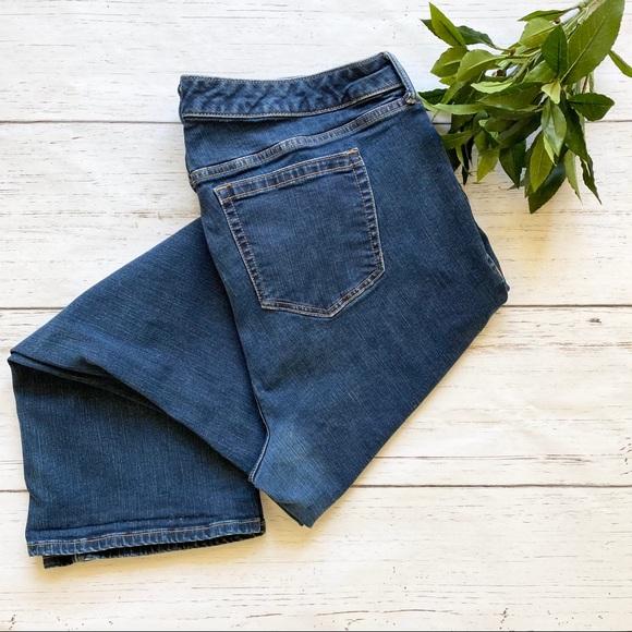 Torrid Dark Wash Slim Boot Jeans Short Length